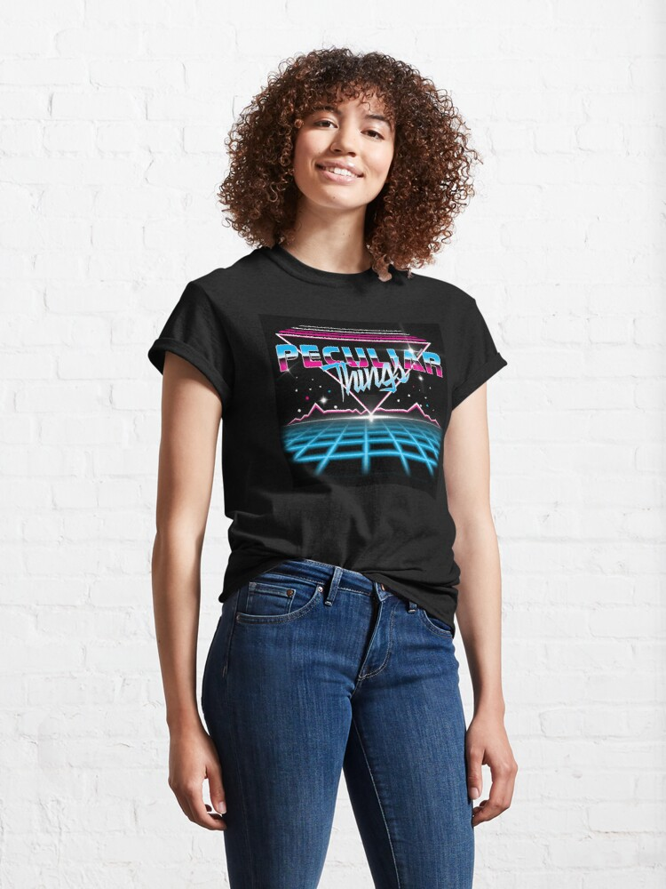 Alternate view of Peculiar Things 80s Classic T-Shirt