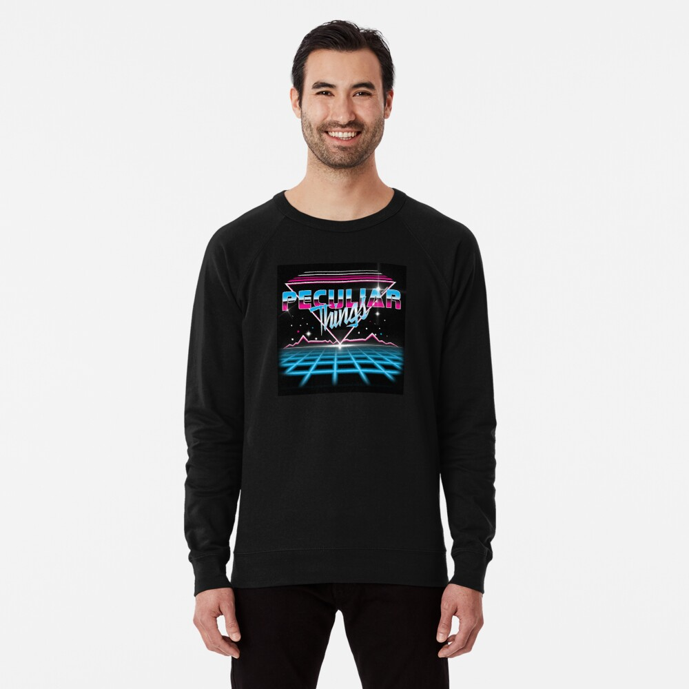 Peculiar Things 80s Lightweight Sweatshirt