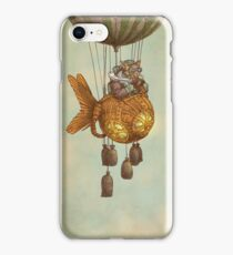 Around the World in the Goldfish Flyer iPhone Case/Skin