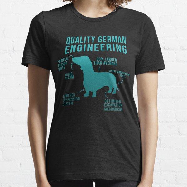 Funny Weiner Dog Joke - Daschund allemand sarcastique T-shirt essentiel