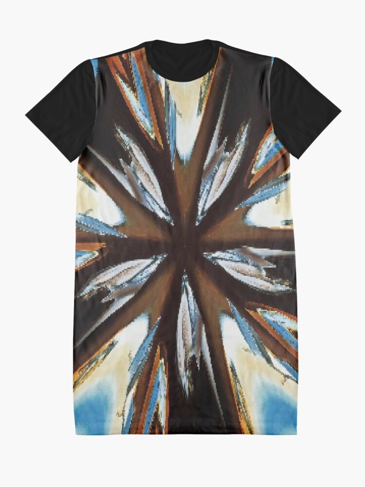 Alternate view of #car #auto #automobile #headlight #black #vehicle #light #chrome #transportation #abstract #vintage #speed #transport #red #wheel #shiny #engine #motorcycle #blue #classic #glass #racing #reflection Graphic T-Shirt Dress
