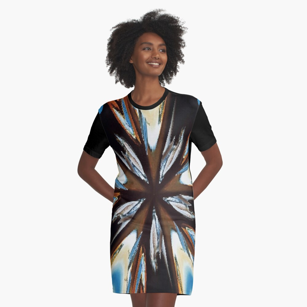 #car #auto #automobile #headlight #black #vehicle #light #chrome #transportation #abstract #vintage #speed #transport #red #wheel #shiny #engine #motorcycle #blue #classic #glass #racing #reflection Graphic T-Shirt Dress Front