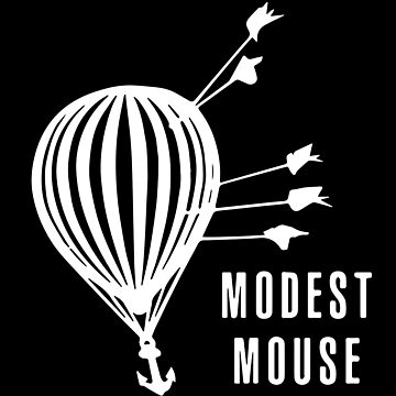 Modest Mouse Good News Before the Ship Sank Combined Album Covers (Dark) by nathancowle