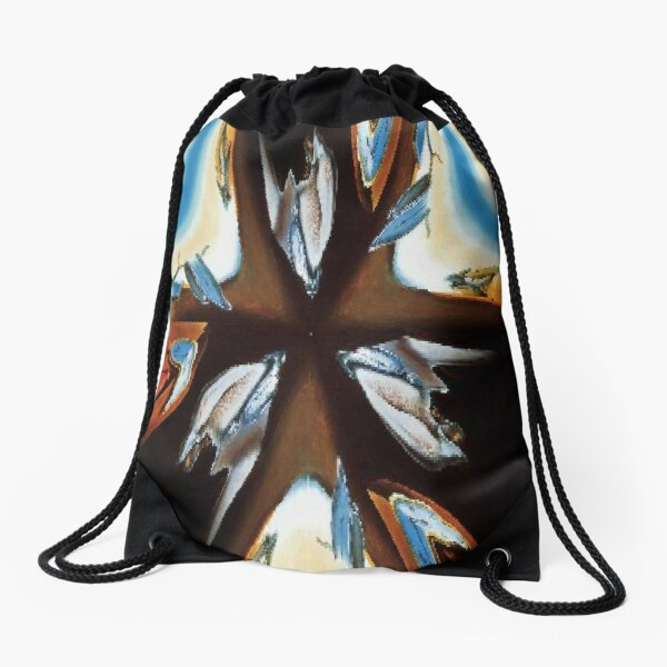 #star #abstract #christmas #red #decoration #art #graffiti #colorful #light #blue #design #illustration #symbol #holiday #sea #wall #color #graphic #shape #white Drawstring Bag