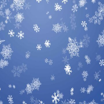 Snowflakes Winter Pattern by iwaygifts