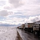 Road to Snowy Hell by Nedim Bosnic
