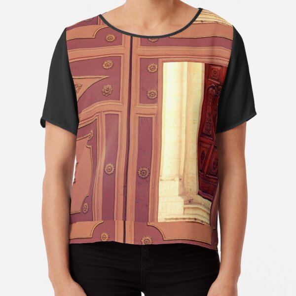 Church, Holy land,  Chiffon Top