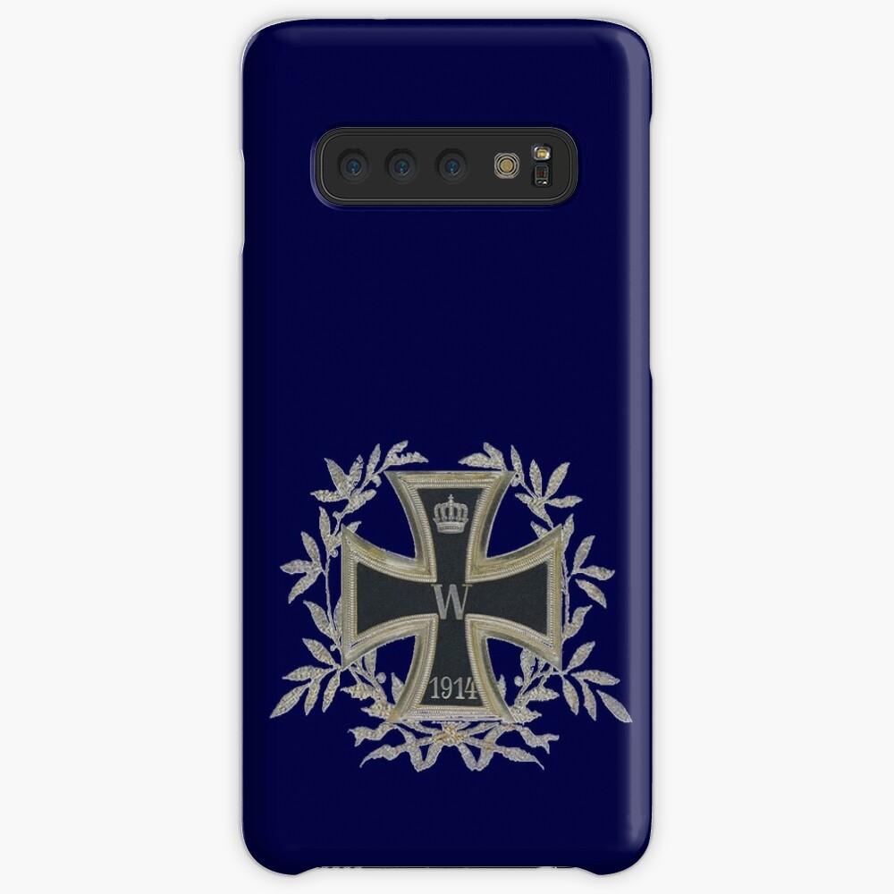 Deutsches Reich Iron Cross 1914 in wreath Case & Skin for Samsung Galaxy
