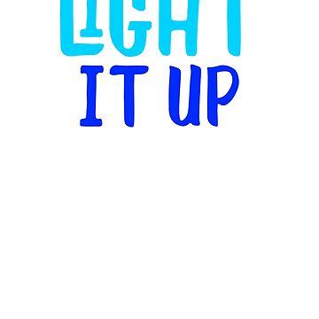 Light It Up Menorah by teeprintsio