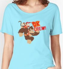 Donkey Kong (DK) Crew! Women's Relaxed Fit T-Shirt