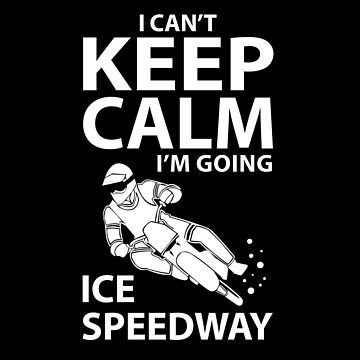Ice Speedway Shirt & Gift Idea by larry01