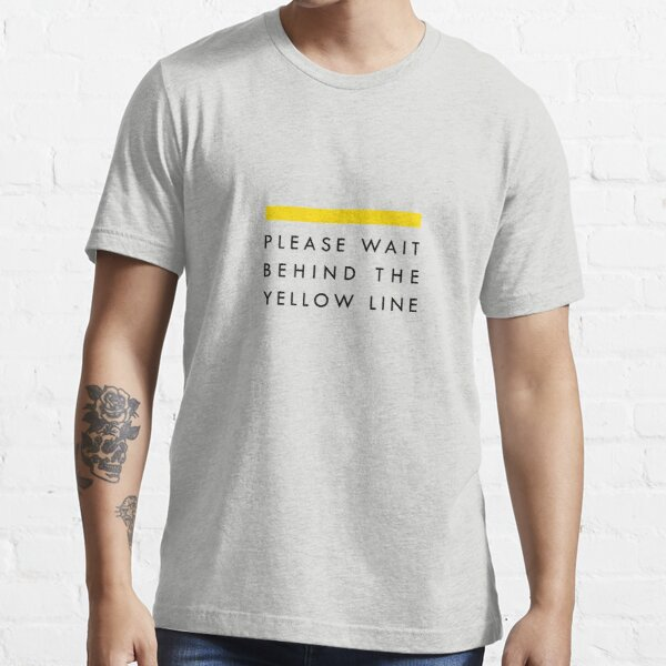 Yellow Line Essential T-Shirt