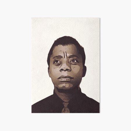 James Baldwin Art Board Print