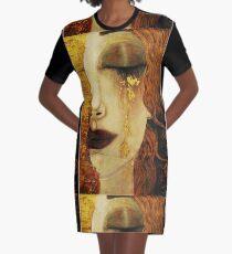 Golden Tears...Jugendstil art by Klimt Graphic T-Shirt Dress