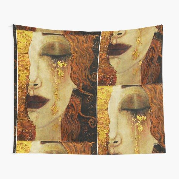 Golden Tears...Jugendstil art by Klimt Tapestry