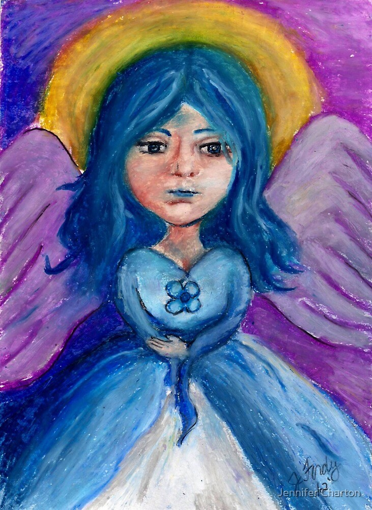 Blue Angel by Jennifer Charton