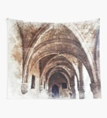 Ancient Mediterranean Arches  Wall Tapestry
