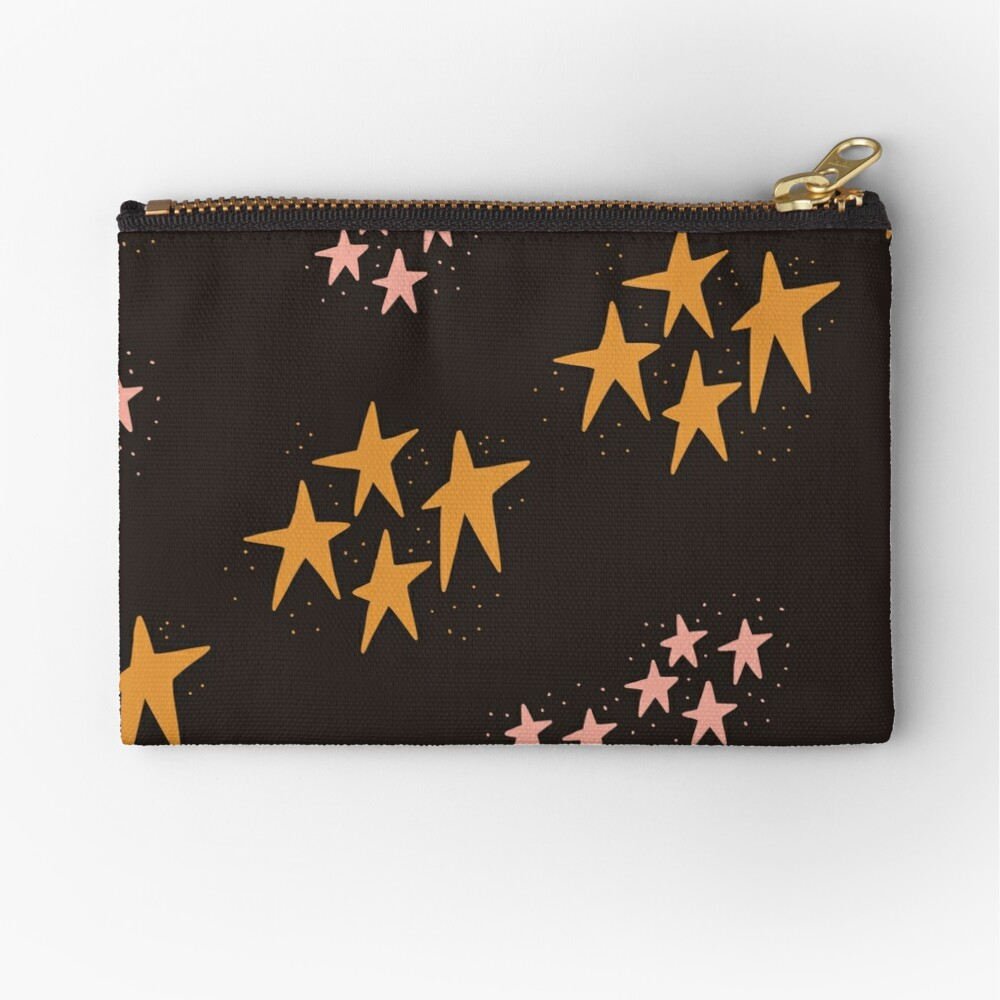 Whimsical Stars Zipper Pouch
