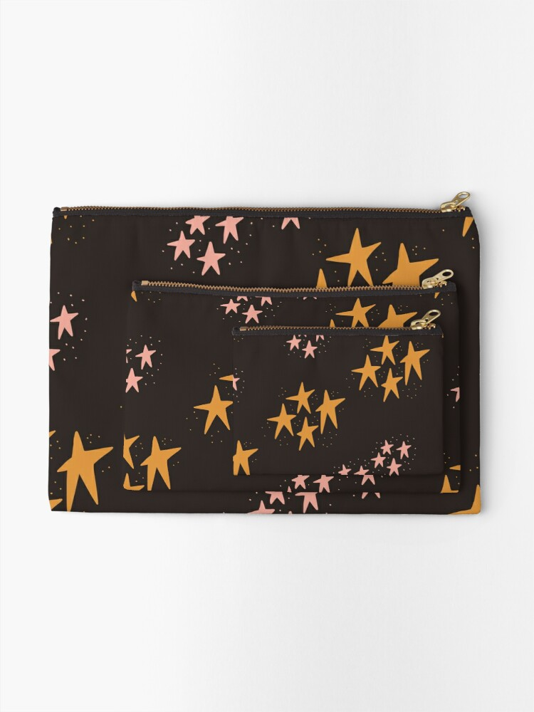 Alternate view of Whimsical Stars Zipper Pouch