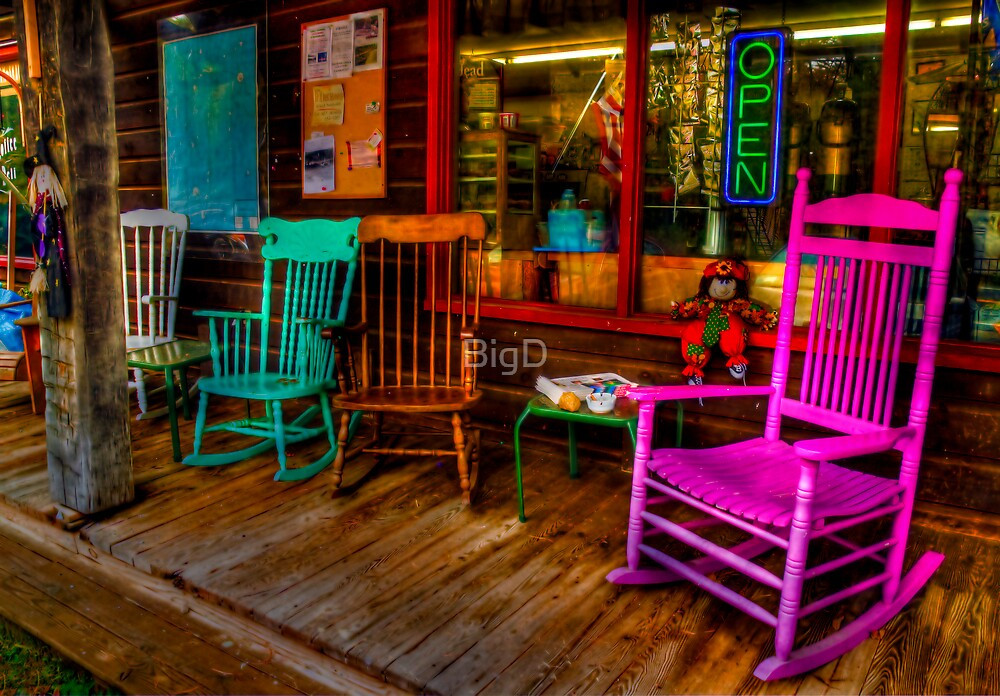 Rocking Chairs by BigD