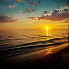 Coastal Colors Sunset by Jonicool