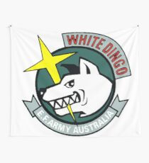 Gundam White Dingo Team  Wall Tapestry