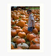 search for THE GREAT PUMPKIN Art Print