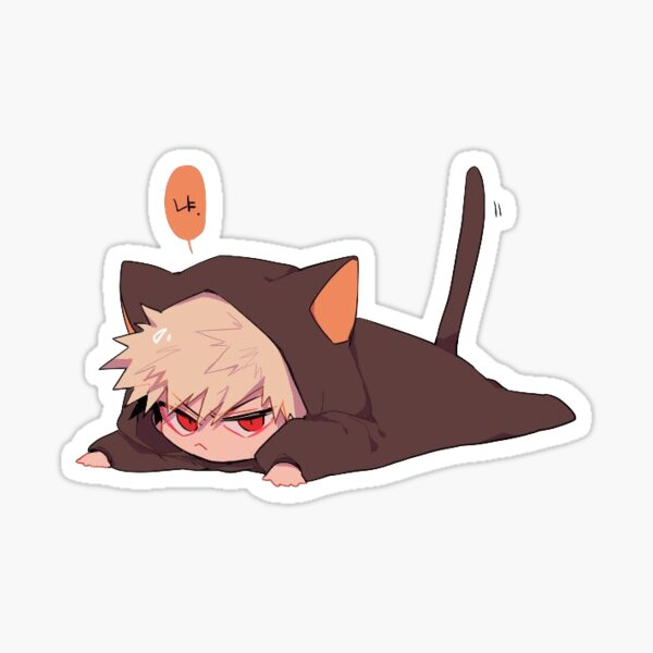 kitty kacchan  Sticker