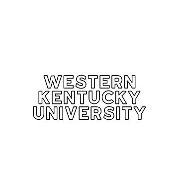 Western Kentucky University - Style 13 by caroowens