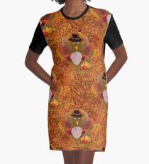 thanksgiving turkey Graphic T-Shirt Dress