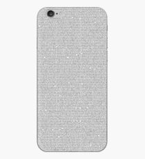 New In Town Transcript  iPhone Case