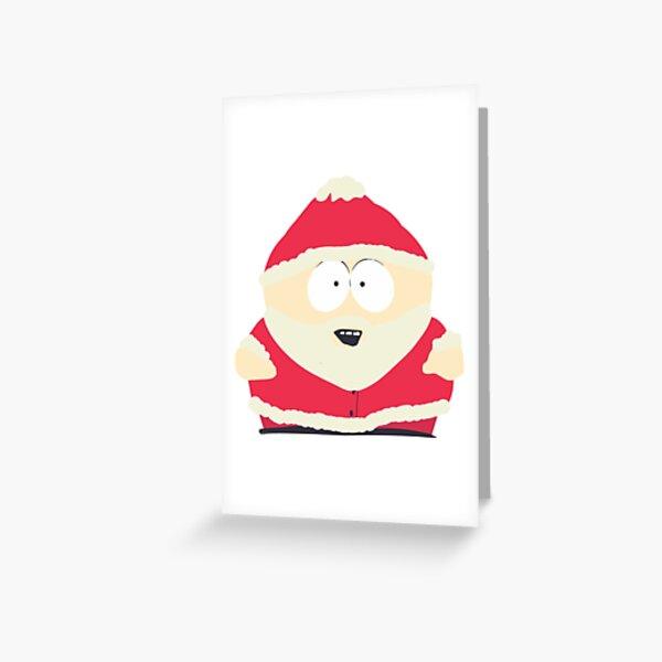 Christmas Cartman Greeting Card
