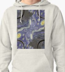 #abstract #art #painting #texture #blue #pattern #nature #green #paint #color #colorful #paper #design #wallpaper #artistic #illustration #wall #drawing #grunge #tree #yellow #old #vintage #water Pullover Hoodie