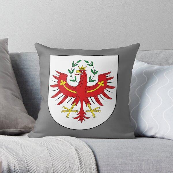 Coat of Arms of Tyrol, Austria Throw Pillow