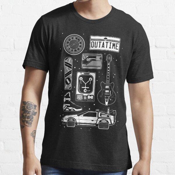 BTTF Icon Set T-shirt essentiel