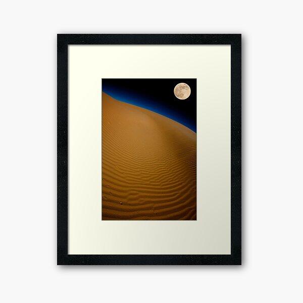 Moon Over Glamis Framed Art Print