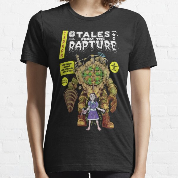 Tales From The Rapture Vintage Comic Parody Essential T-Shirt
