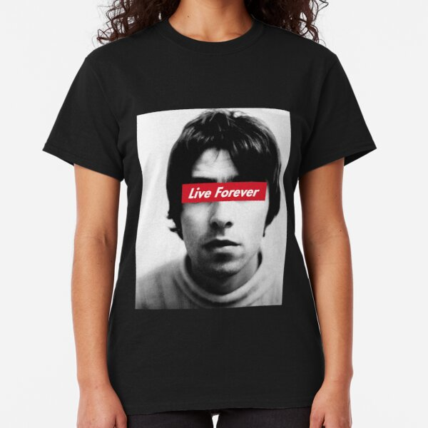 Oasis Live forever Classic T-Shirt