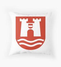 Coat of Arms of Linz, Austria Throw Pillow