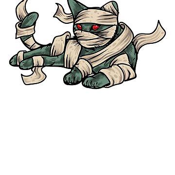 Mummy Cat by CreativeFit