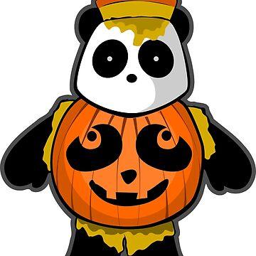 Halloween Panda by pda1986