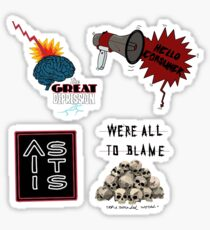 as it is sticker pack (the great depression) Sticker