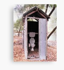 The Old Dunny Canvas Print