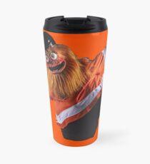 Gritty Philadelphia Flyers Mascot Travel Mug