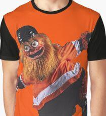 Gritty Philadelphia Flyers Mascot Graphic T-Shirt