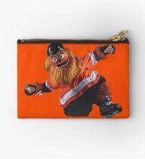 Gritty Philadelphia Flyers Mascot Zipper Pouch