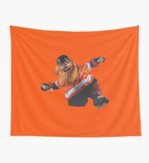 Gritty Philadelphia Flyers Mascot Wall Tapestry
