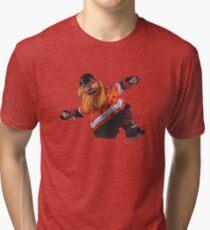 Gritty Philadelphia Flyers Mascot Tri-blend T-Shirt