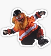 Gritty Philadelphia Flyers Mascot Sticker
