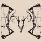 DeerSkull & Compound Bow by GrumpyDog
